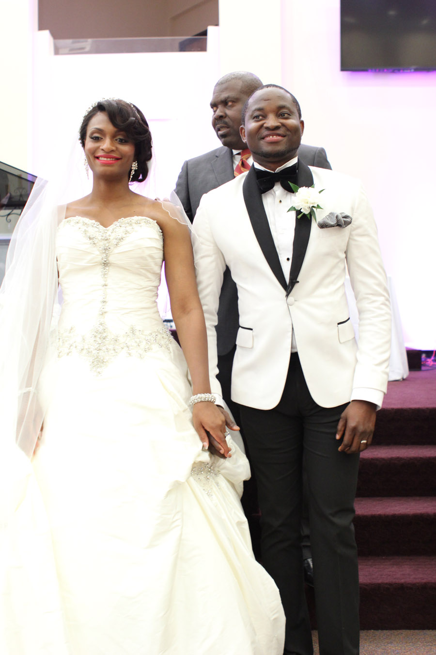 Chika + Siji Wedding Ceremony at RCCG King's Court Chapel