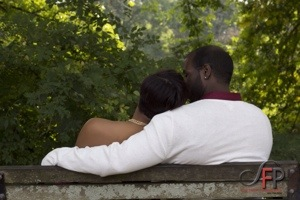 Engagement session with Elle + Keon